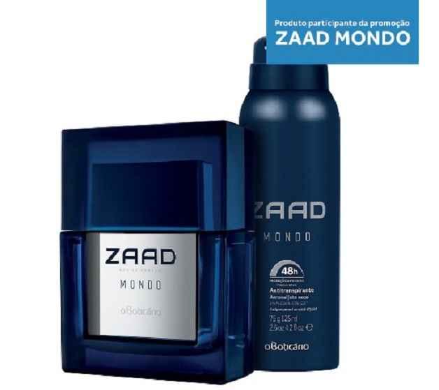 Promoção O Boticário Zaad Mondo – Como Participar