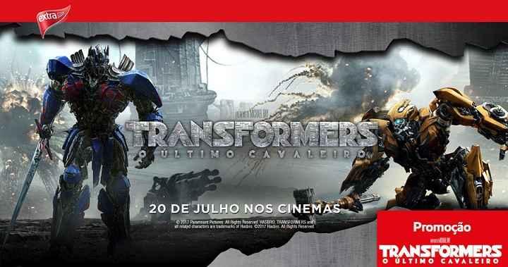 Promoção Transformers e Hipermercados Extra – Como Participar