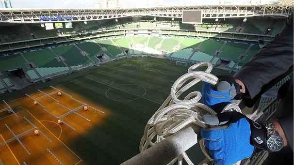 Rapel No Estádio do Palmeiras – Novo Passeio