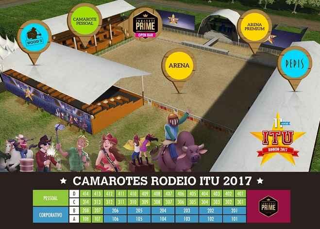 Rodeio Itu 2017- Programação