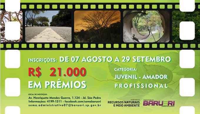 Concurso de Fotografia Ambiental Em Barueri - Inscrições