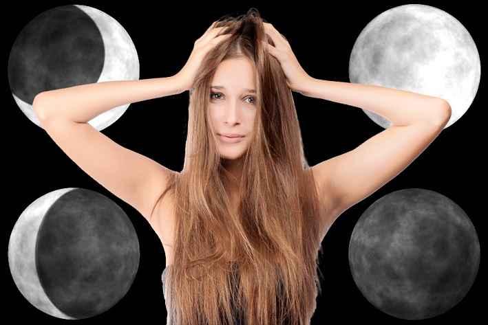 Corte de Cabelo Influencia da Fase Lua - Como Fazer