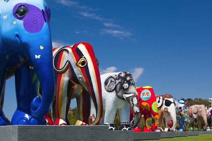 Esculturas Elephant Parade Em São Paulo – Exposição