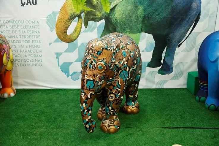 Esculturas Elephant Parade Em São Paulo - Exposição