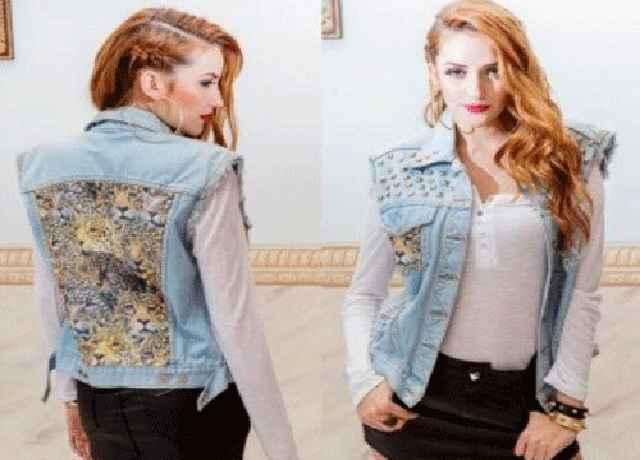 Jaqueta Jeans Customizada - Como Fazer e Modelos