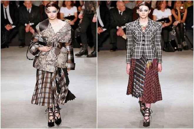 Moda Xadrez Couture - Tendência Inverno 2018