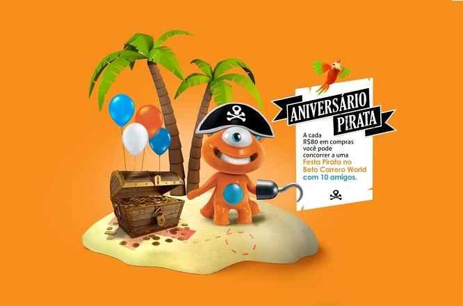 Promoção PBKids Aniversário Pirata – Como Participar