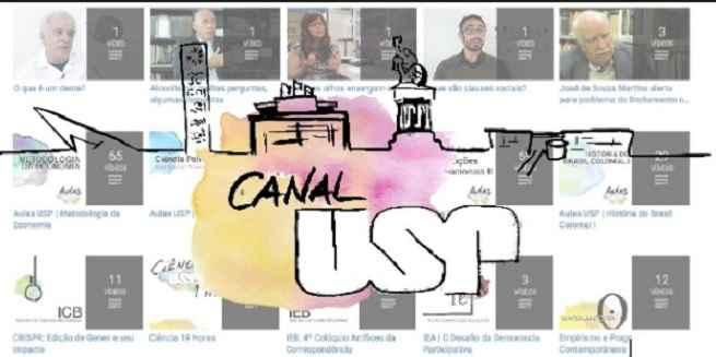 USP Lança Aulas Online no YouTube - Gratuitas