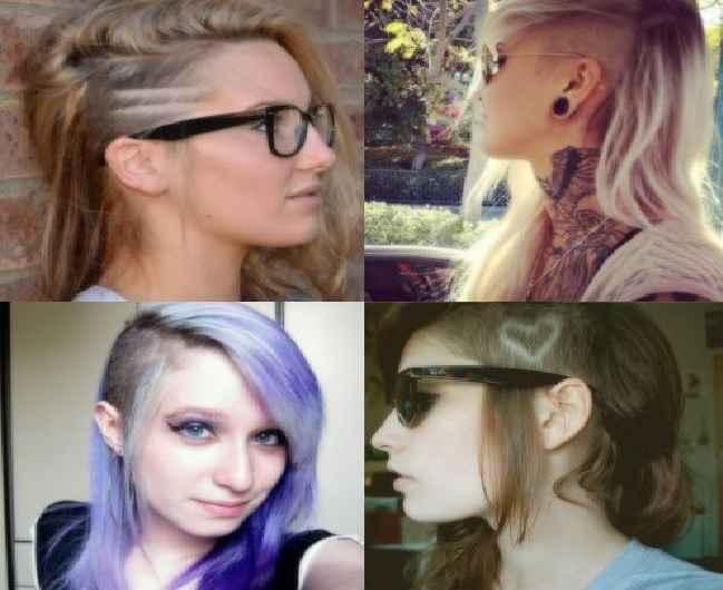 Cabelo Feminino Undercut ou Sidecurt – Como Escolher