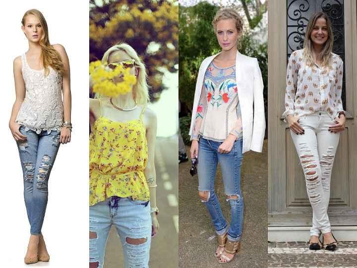 Calça Jeans Rasgada - Modelos e Como Usar