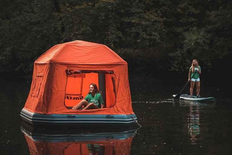 Barraca Flutuante Para Acampamento – Novidade