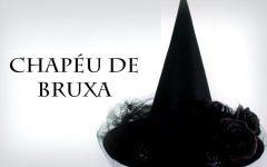 Chapéu de Bruxa Em Feltro e EVA – Material e Vídeo