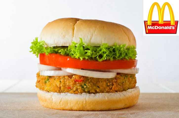 Hambúrguer Vegano McDonald - Lançamento