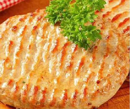 Hambúrguer de Frango Fit - Receita