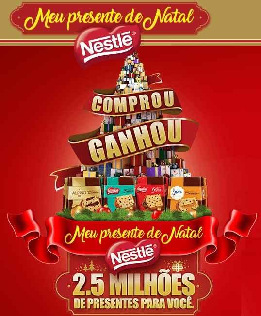 Promoção Meu Presente de Natal Nestlé – Como Participar