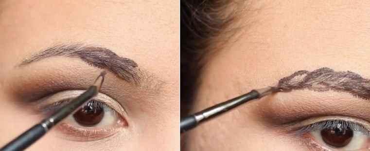 Sobrancelhas Trançadas Maquiagem – Novidade Instagram