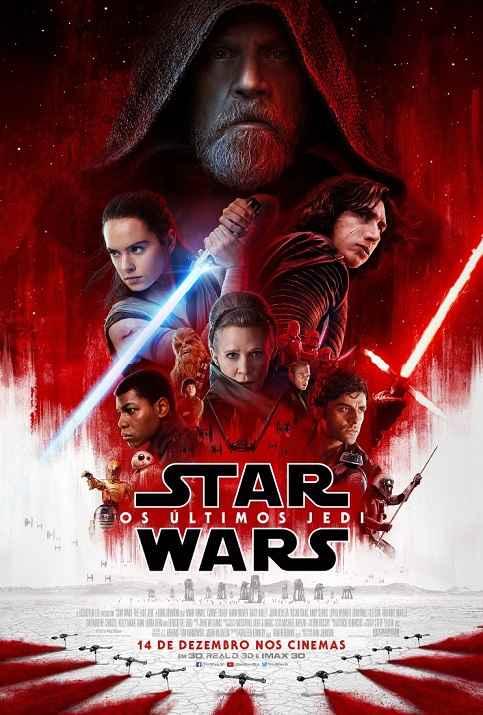 Star Wars VIII Os Últimos Jedi – Elenco e Trailer