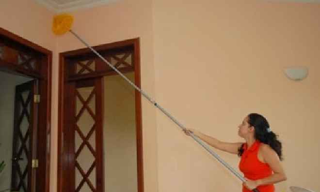 Limpar Paredes e Tetos – Dicas