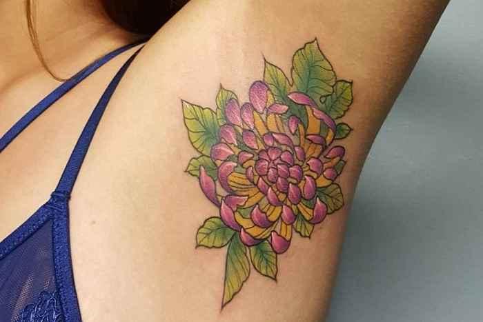Tatuagem Na Axila – Tendência