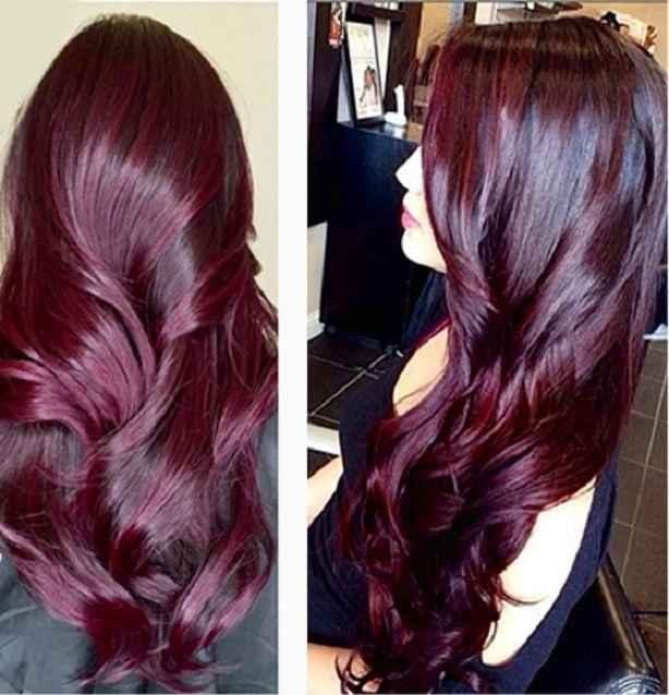 Coloração Cor Vinho Para Cabelos – Tendência Instagram