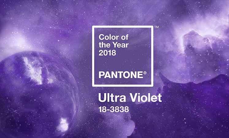 Cor Ultra Violet Para 2018 – Tendência