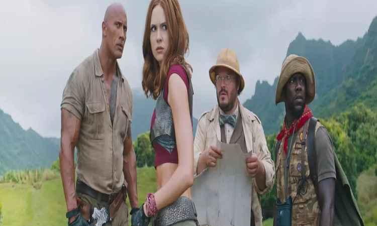 Jumanji Bem-vindo à Selva– Estreia e Trailer