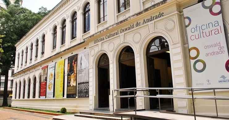 Oficina Cultural Oswald de Andrade - Atrações