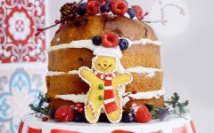 Panetone Naked Cake – Receita e Vídeo
