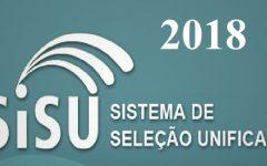 SISU-Sistema de Seleção Unificada2018 – Inscrições
