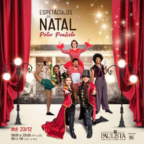 Shows Circenses No Natal – Gratuito