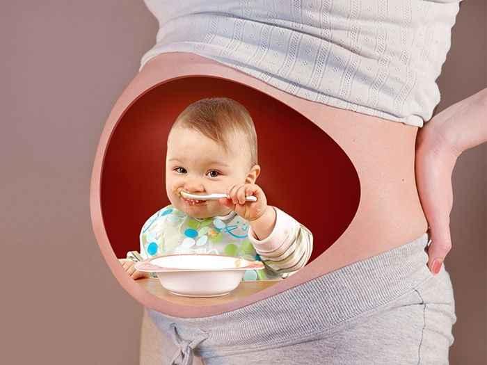 Alimentação no Inicio de Gravidez – Cuidados