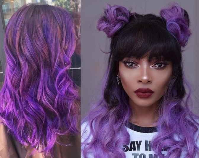 Cabelo Cor Ultra Violeta – Tendência