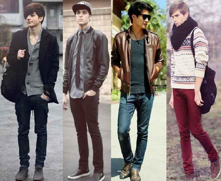 Calça Skinny Masculina - Modelos