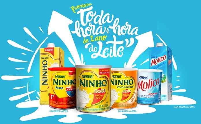 Promoção Toda Hora é Hora de Um Ano de Leite Nestlé – Como Participar