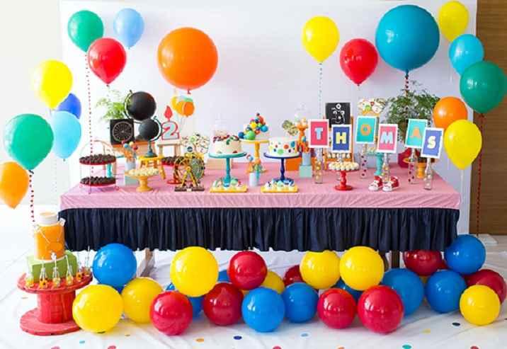 Festa Infantil de Tema Balões – Dicas e Fotos