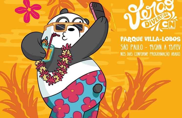 Parque Villa Lobos Cartoon Network Verão Divertido – Participar