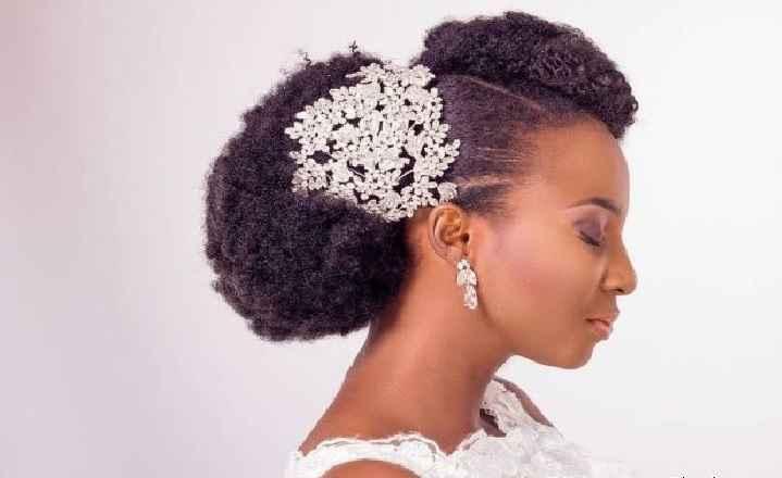 Penteados Noivas Cabelos Afro - Dicas e Fotos