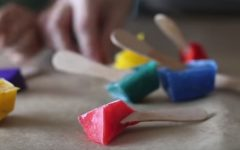 Pintura Divertida Com Tinta Congelada – Como Fazer