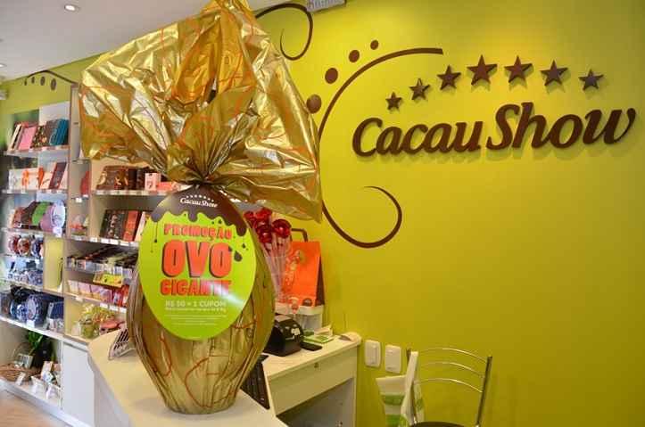 Promoção Cacau Show Ovo Gigante – Como Participar