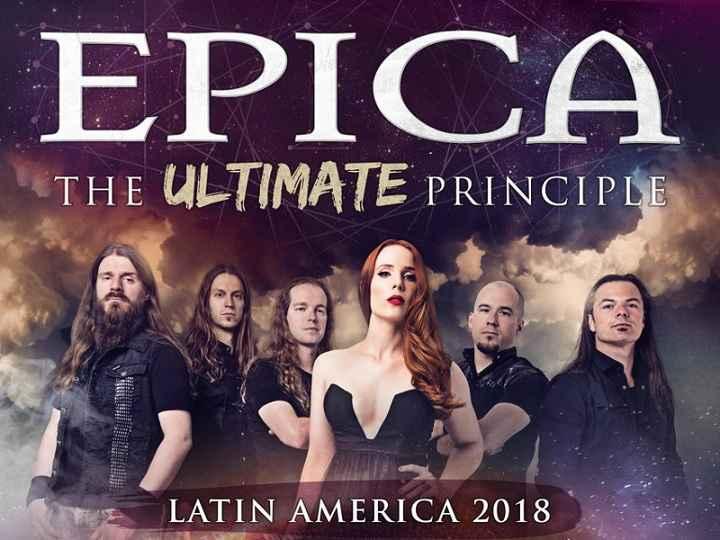 Show Banda Epica 2018 – Ingressos