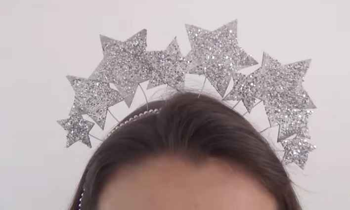 Tiara de Carnaval Estrelas – Material e Vídeo