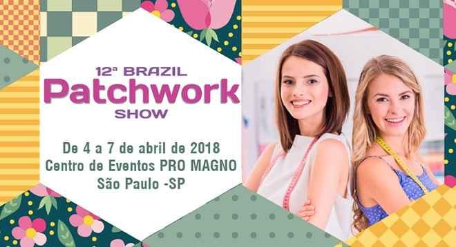 Feiras Brazil Patchwork Showe Brazil Scrapbooking Show - Ingressos