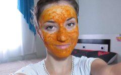 Mascara de Cúrcuma Para o Rosto – Receitas