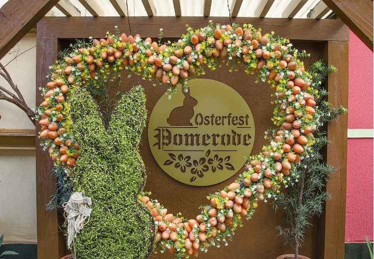 Osterfest Festa de Páscoa de Pomerode - Atrações