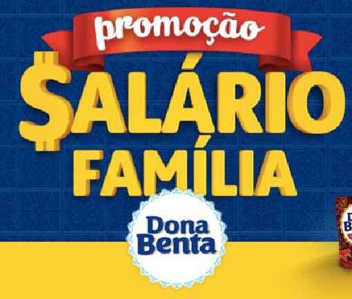 Promoção Dona Benta Salário de Família – Como Participar