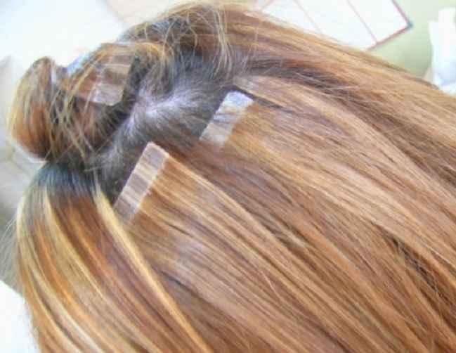 Alongamento de Cabelo Com Fita Adesiva – Como Funciona
