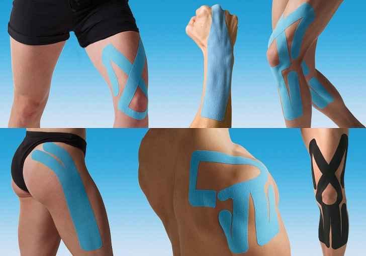 Bandagem Elástica Kinesio Taping - Benefícios