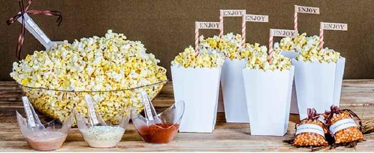 Festa Tema Popcorn Bar – Como Fazer