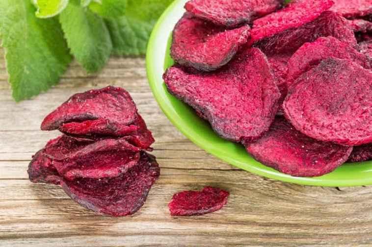 Chips de Beterraba – Receita