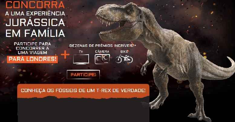 Promoção Nestlé Jurassic World Reino Ameaçado – Como Participar